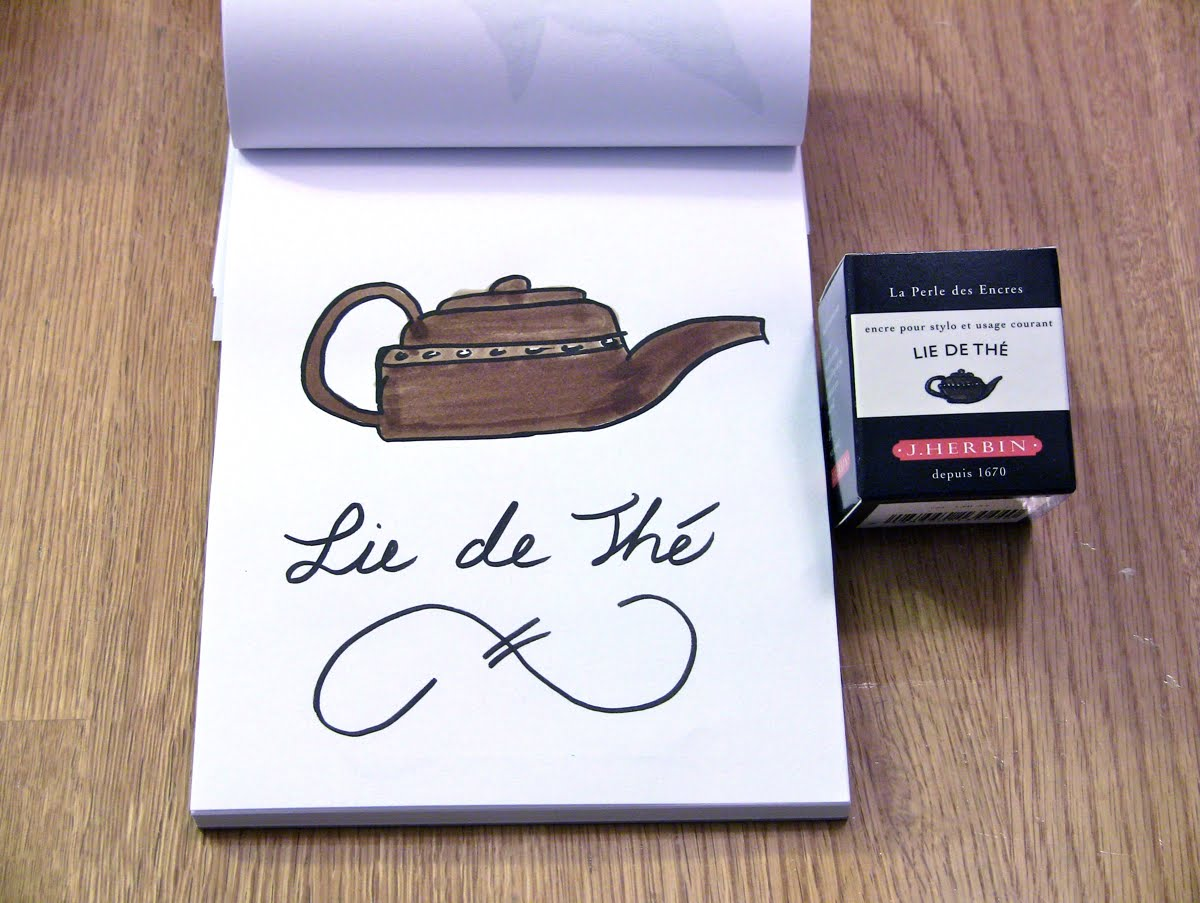 Mực J. Herbin - Màu nâu trà (Lie de Thé) -  44 - 30ml