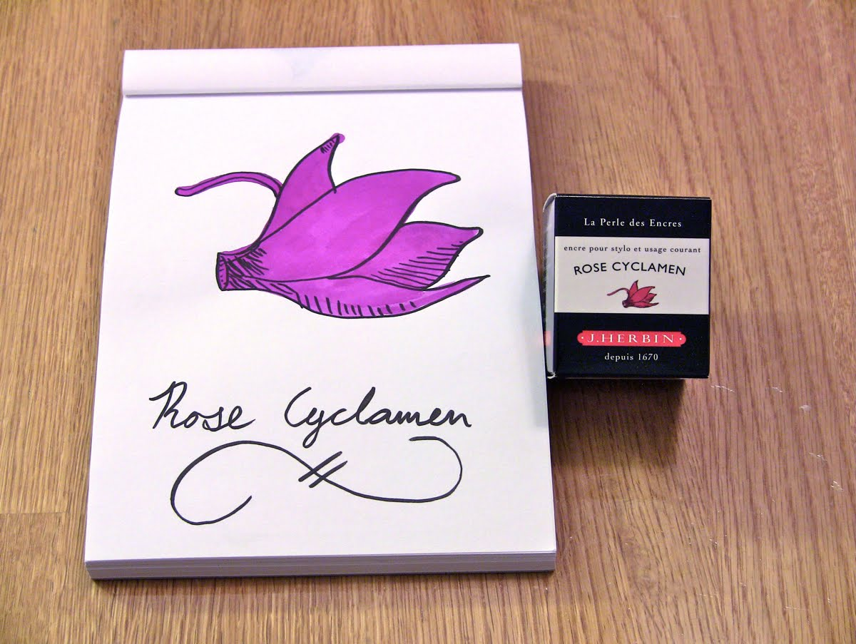 Mực J. Herbin - Màu tím hồng (Rose Cyclamen) -  66 - 30ml