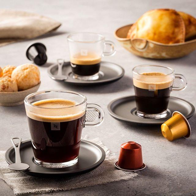 ly uống cà phê Nespresso sang trọng