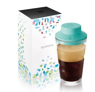 Bộ ly uống cà phê Nespresso Glass shaker