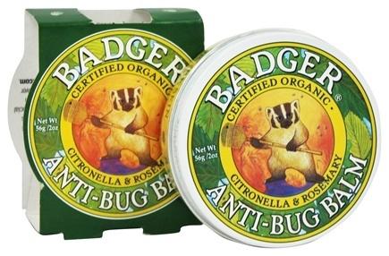 Sáp Chống Muỗi Hữu Cơ Badger Organic Anti-Bug Balm Citronella & Rosemary (56 g)