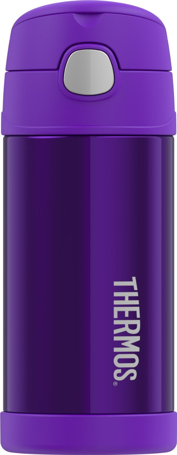 Bình giữ nhiệt trẻ em Thermos 12 Ounce Funtainer Bottle, Violet - 350ml