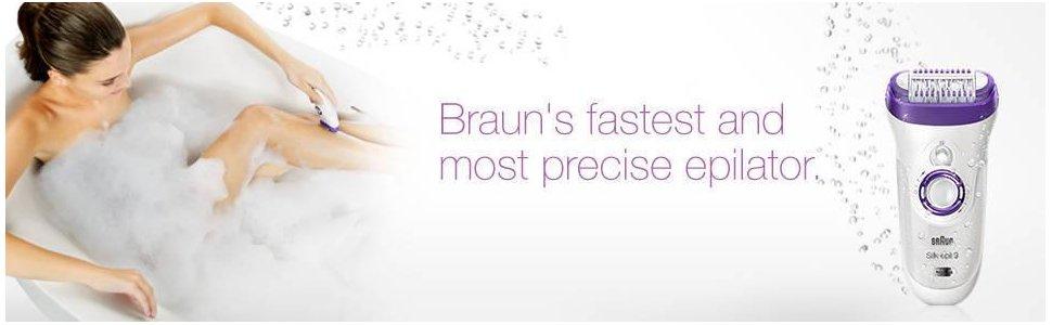 Tự tin với máy nhổ lông Braun