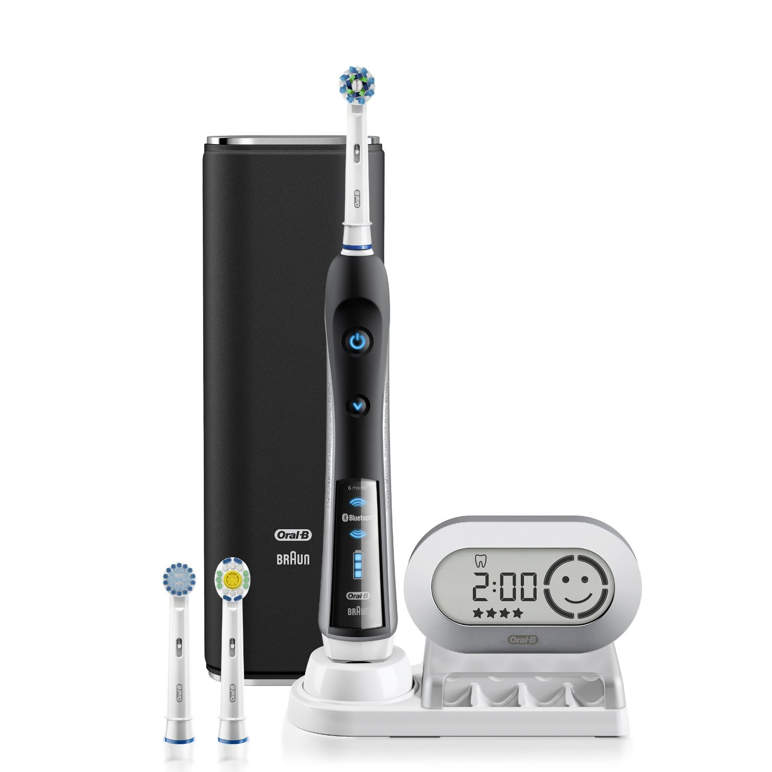 Oral-B Precision Black 7000 Rechargeable Electric Toothbrush