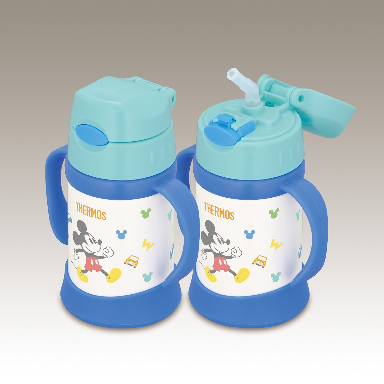 Bình ống hút giữ nhiệt Thermos cho bé - Hàng nhập từ Nhật - 250ml