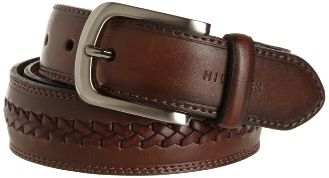 Thắt lưng nam Tommy Hilfiger Men's Double-Stitched Leather Belt