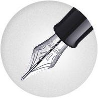 Ngòi bút được thiết kế mang đậm dấu ấn Waterman trao cảm giác sang trọng