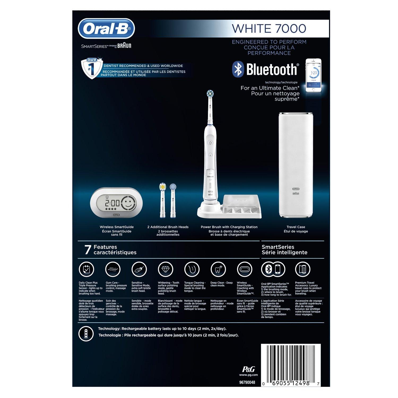 bàn chải điện oral b 7000 white