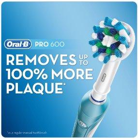 Bàn chải đánh răng điện Oral B 600 giúp làm sạch răng hiệu quả