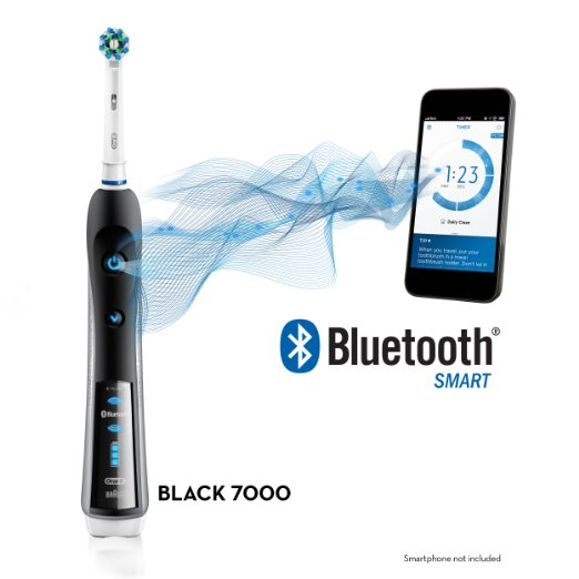 Bàn chải điện Oral B 7000 Black Bluetooth