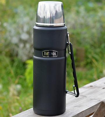 Thermos Stainless King Matte Black  - 1.2