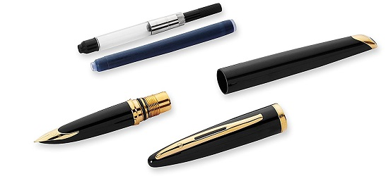 Các bộ phận của bút Waterman Carene