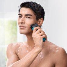 Máy cạo râu Braun Series 3 3040 dùng cho cả wet & dry shaving