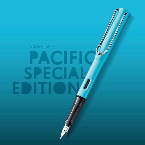 Bút Lamy Al-Star màu xanh pacific - Phiên bản đặc biệt năm 2017