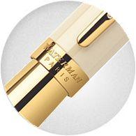 Nắp Bút Waterman Elegance Ivory Gold Trim - Ngòi M - Mực đen - S0891330