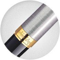 Khớp nối Bút Waterman Hemisphere Essential Gold Trim Stainless Steel S0920330