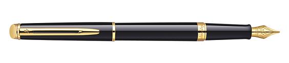 Bút Waterman Hemisphere Gold Trim - Ngòi M - Mực xanh - S0920630 tinh xảo