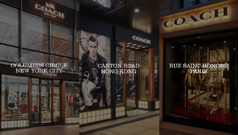 Cửa hàng sản phẩm Coach tại Mỹ