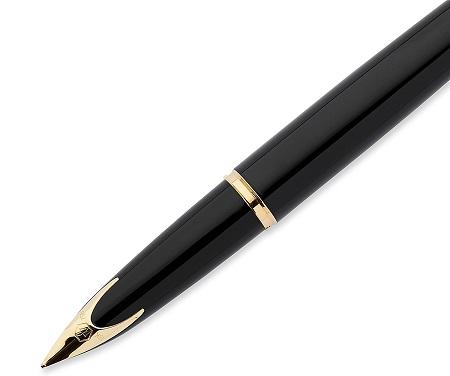 Đầu bút Waterman Carene Black Sea Fountain Pen GT- Ngòi M - Mực xanh - S0700320