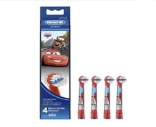 Đầu bàn chải đánh răng điện trẻ em Oral-B Stages Power Electric Toothbrush Featuring Cars Characters x 4 cái