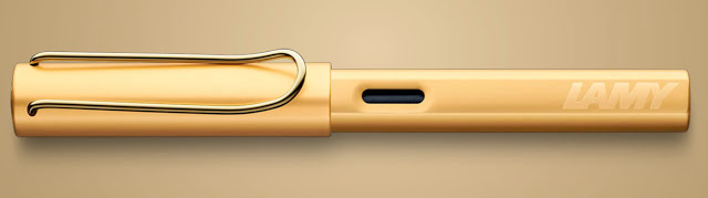 Bút Lamy LX - Màu Gold (Au) - Ngòi M - L75