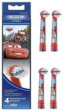 Đầu bàn chải đánh răng điện trẻ em Oral-B Stages Power Electric Toothbrush Featuring Cars Characters