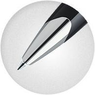 Bút bi Waterman Carene Contemporary White Chrome Trim