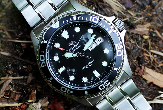 Đồng hồ Orient Black Ray II FA002004B9 Stainless Steel Automatic Watch