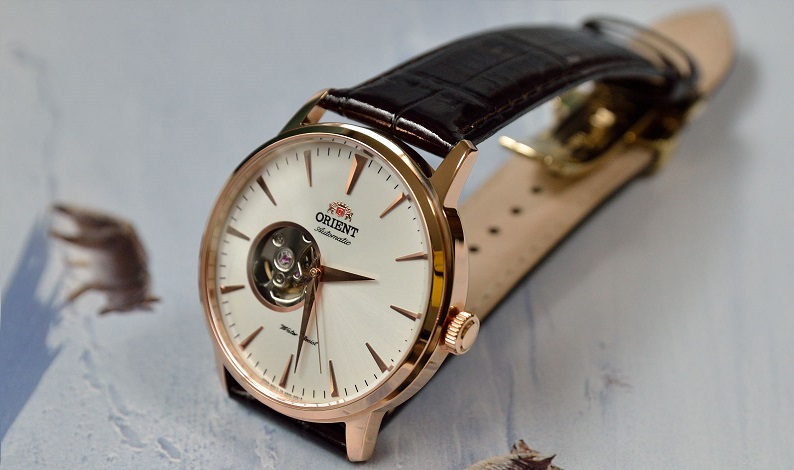 đồng hồ Orient FDB08001W0 Esteem Open Heart Dial Watch thanh lịch