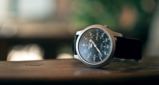 Đồng hồ Seiko quân đội SNK809 (SNK809K2) cá tính