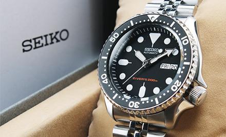 Vẽ thanh lịch của đồng hồ Seiko SKX007KD