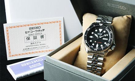 Đồng hồ Seiko SKX007KD nhập từ Nhật