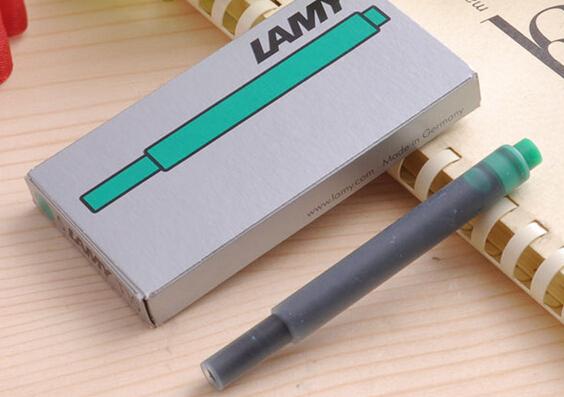Bộ 5 ống mực Lamy màu xanh lá (Green) - T10