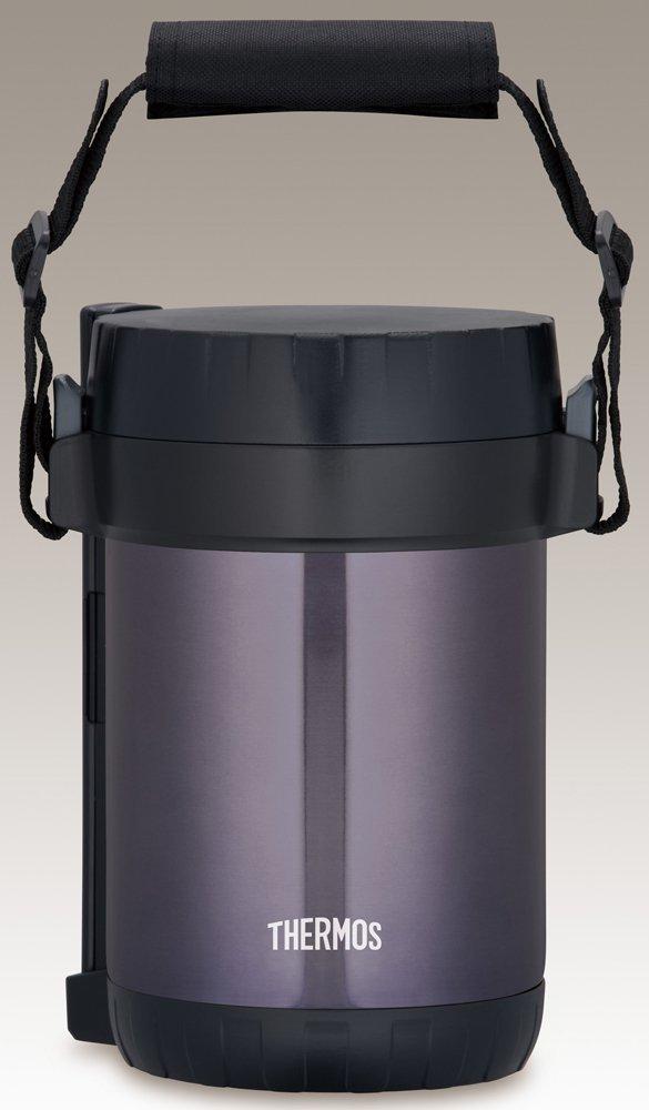 Hộp đựng cơm giữ nhiệt Thermos Stainless Steel JBG-1801 MDB - Chính hãng