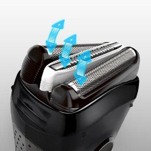 Máy cạo râu Braun Series 3 3040 dùng hệ thống cạo Triple Action