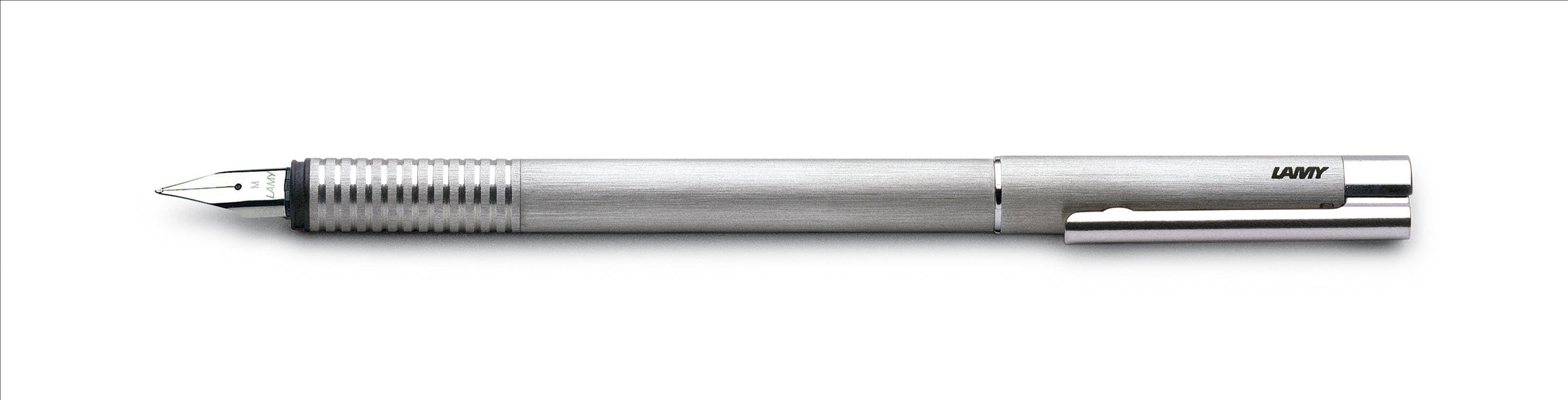 Bút máy Lamy Logo - Màu Brush (Thép xước) - L06
