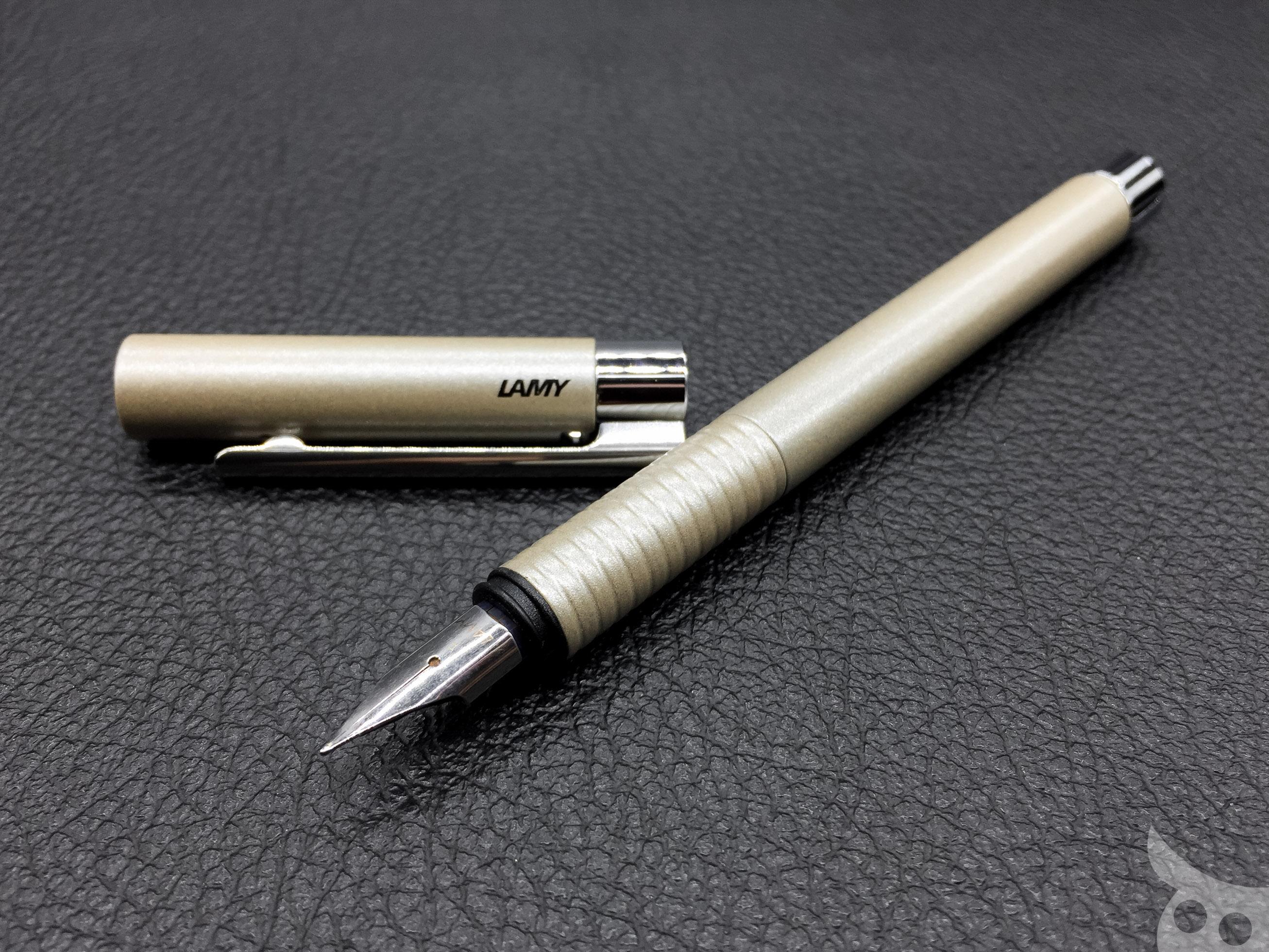 Bút Lamy Logo - Màu Pearl (ngọc trai) - Ngòi F - L06 Pearl
