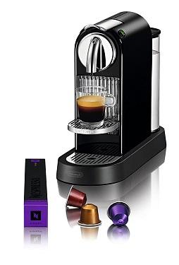 Máy pha cà phê Nespresso Citiz Limousine Black nhỏ gọn