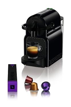 Máy pha cà phê Nespresso Inissia Black nhỏ gọn