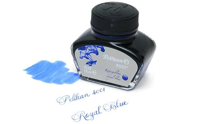 Mực Pelikan 4001 - 30ml - Màu xanh royal blue