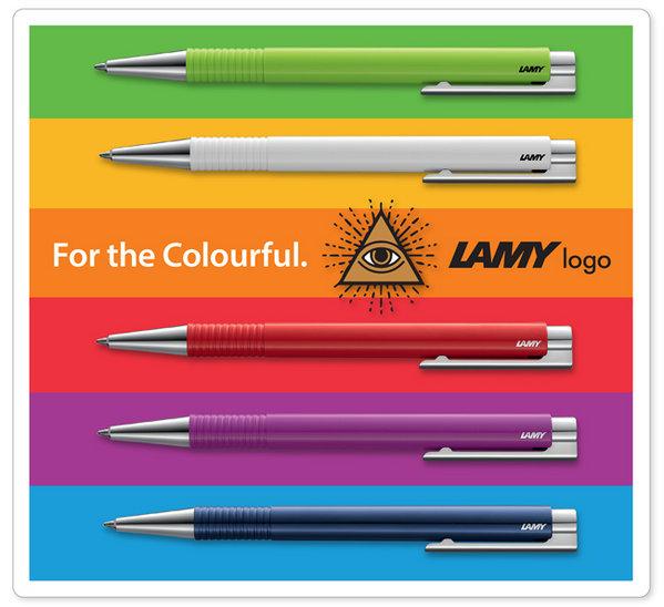 Bút bi Lamy M+