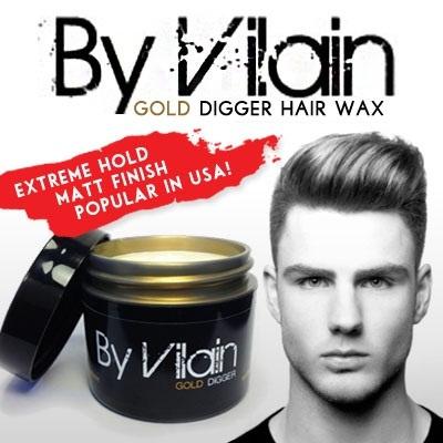 Sáp vuốt tóc By Vilain dùng rất tốt để tạo nên những kiểu tóc nhìn đơn giản, nghiêm túc cũng như nhiều kiểu tóc khác