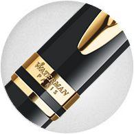 Bút bi Waterman Expert Ballpoint Pen Black Gold