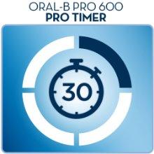 Bộ hẹn giờ bản chải đánh răng điện Oral B 600