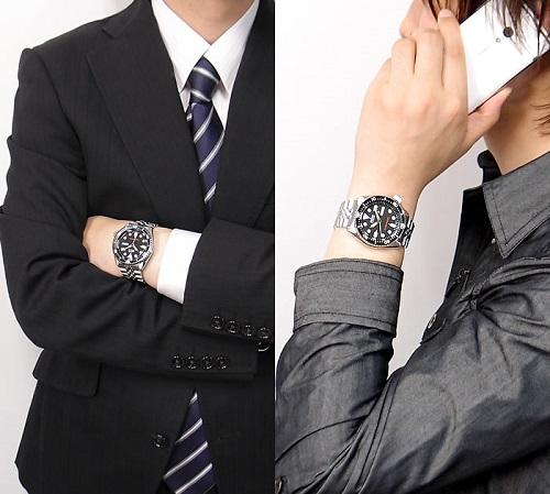 Lịch lãm với đồng hồ Seiko SKX007KD