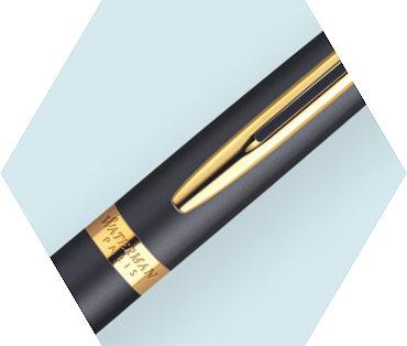 Kẹp bút giát vàng 23K làm tăng thêm vẻ đẹp sang trọng cho bút