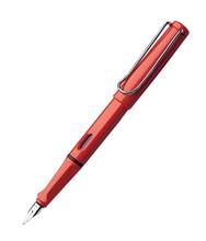Bút máy Lamy Safari - Màu đỏ - Ngòi F - L16