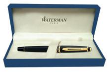 Bút Waterman Expert Gold Trim Fountain Pen - Ngòi M - S0951660