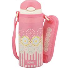 Bình giữ nhiệt trẻ em Thermos hoa hồng 0.4 lít