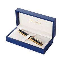 Bút máy Waterman Exception Night & Day Black Lacquer Gold Trim